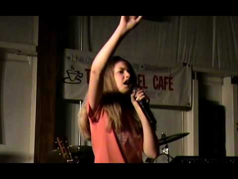 Oh What A Savior  - Mckenzie george at the Gospel Cafe'