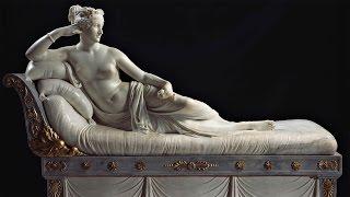 Antonio Canova - Paolina Borghese (spiegata ai truzzi)
