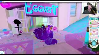 Egg Hunt-1st Store in Royale High-4th UPDATE Sylenia's Homestore ROBLOX