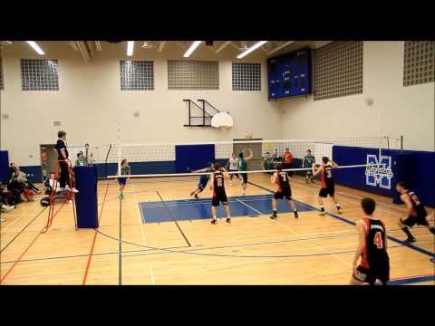 Evolution Volleyball Club   17U Boys Early Season Highlights