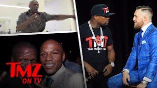 Bieber Gets Schooled By Floyd Mayweather's Dad! | TMZ TV