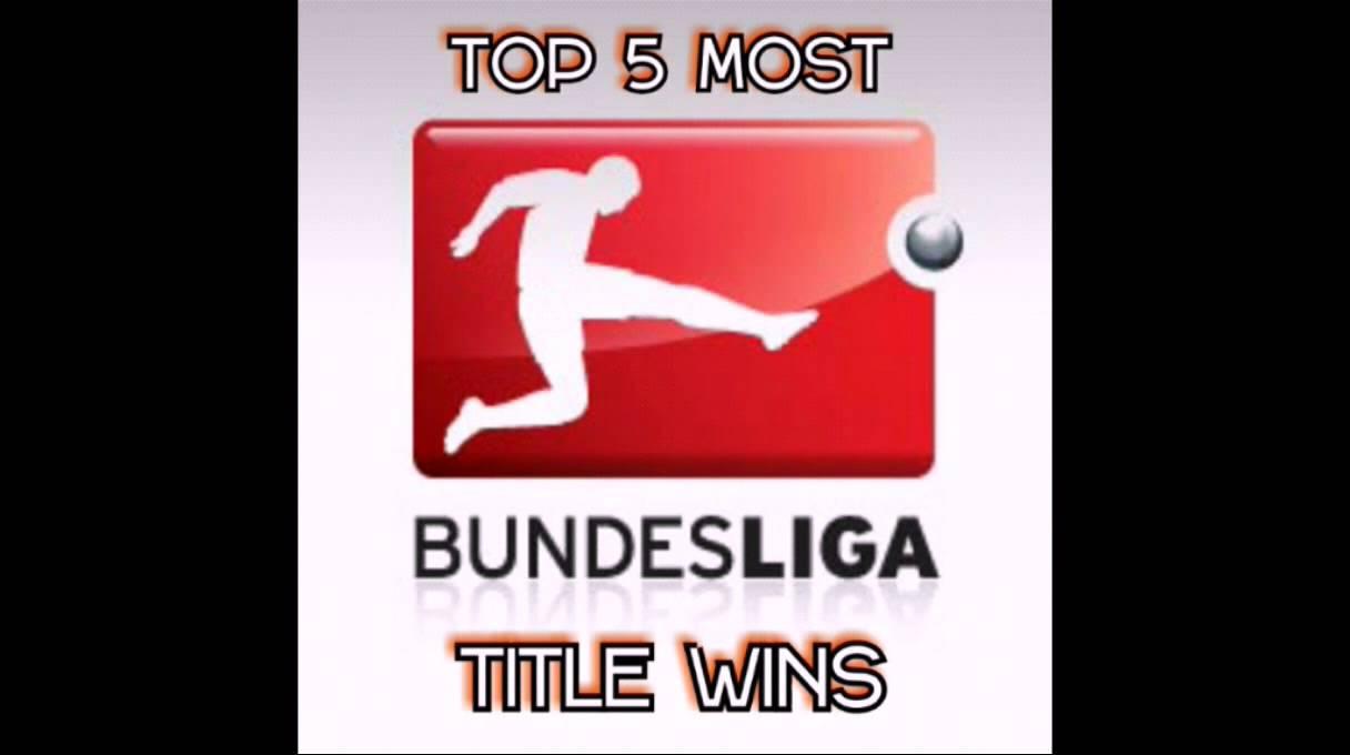 TOP 5 MOST BUNDESLIGA CHAMPIONSHIP WINS / GERMAN FOOTBALL LEAGUE TITLES