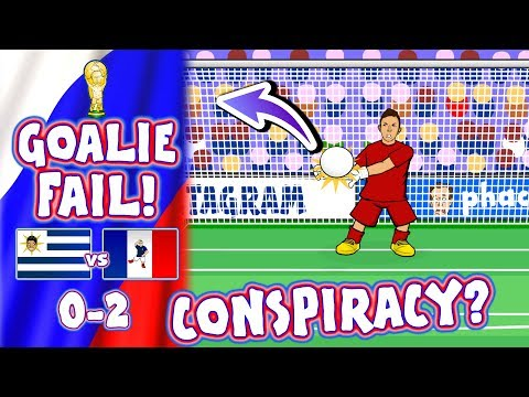 🇺🇾 URUGUAY vs FRANCE 🇫🇷 CONSPIRACY? Muslera howler!(0-2 World Cup Goals Highlights Goalkeeper)