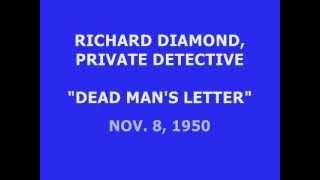 """RICHARD DIAMOND, PRIVATE DETECTIVE -- """"DEAD MAN"""