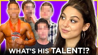 Will HE be the one? BLIND DATE with 6 GUYS | Date Drop w/ Kira Kosarin