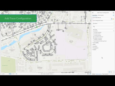 Introducing Trace Configurations with ArcGIS Pro 2.7