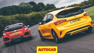 Track battle: 2020 Ford Focus ST vs Honda Civic Type R | Autocar
