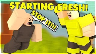 I STARTED FRESH IN BOOGA AND IT DIDN'T GO WELL... (ROBLOX BOOGA BOOGA)