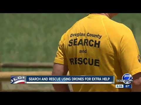 Colorado search and rescue teams are using drones to find lost adventurers