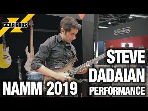 NAMM 2019 - STEVE DADAIAN Live Performance   GEAR GODS