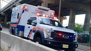 Jersey City Medical Center EMS Responding on Center St 9-6-2018