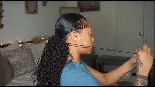 DRAWSTRING PONYTAIL? | HERGIVENHAIR