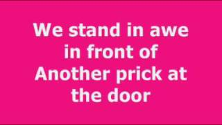 Studio Killers - Ode To The Bouncer lyrics