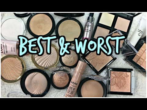 BEST & WORST | Drugstore Highlighter Collection