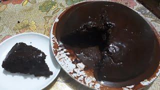 Супердымқыл Шоколадты Пирог Жұмыртқасыз Супервлажный Шоколадный Пирог без яйц и возни