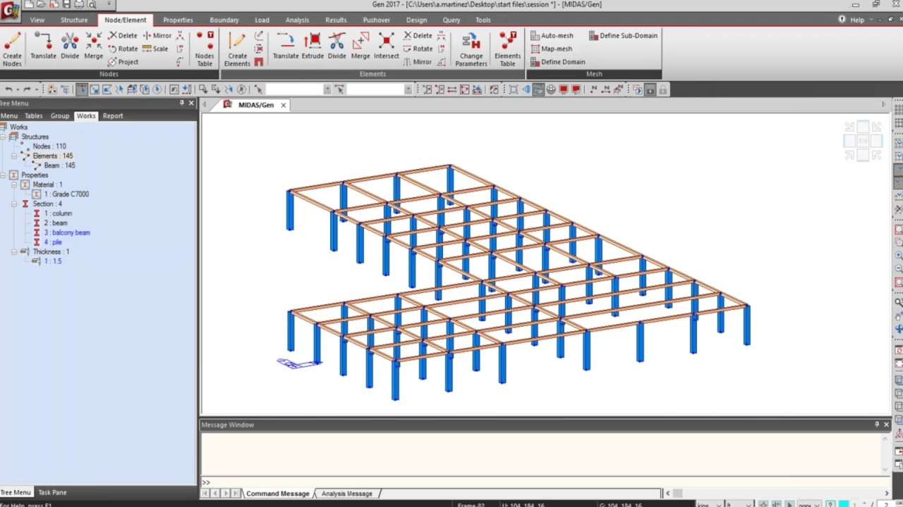 Analysis and Design of RC Building