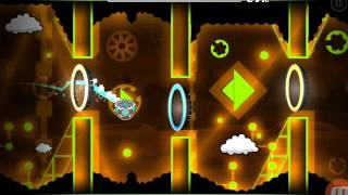 Skyfall By Abdula (Daily Level) | All Coins | - Geometry Dash 2.1