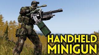 ARMA 3 Exile - Part 76 - HANDHELD MINIGUN
