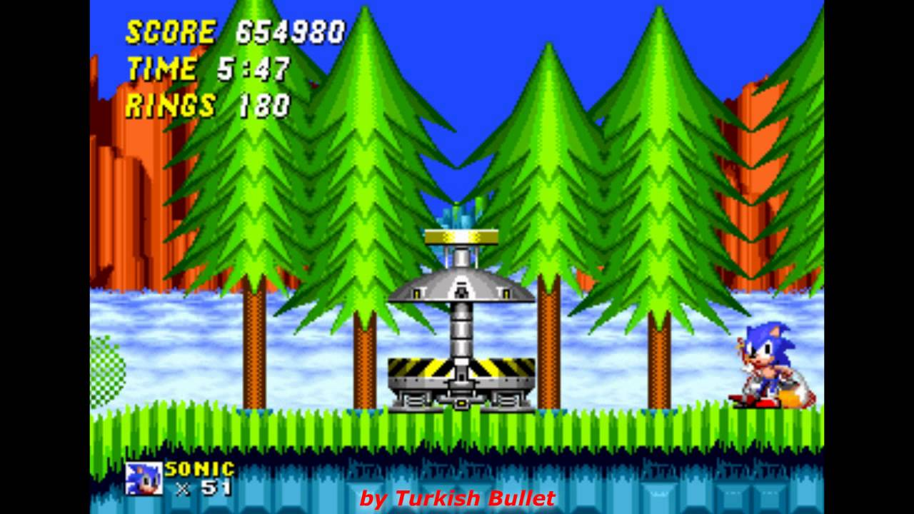Sonic The Hedgehog 2 Sega Mega Drive Genesis