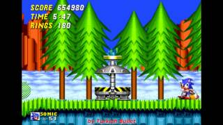 Sonic The Hedgehog 2 (Sega Mega Drive / Genesis) - (Longplay - Sonic & Tails)