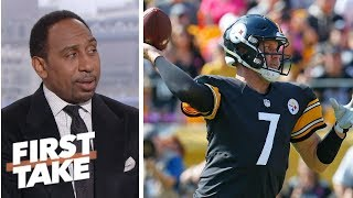 Stephen A. holds out hope for Pittsburgh Steelers after win over Atlanta Falcons | First Take