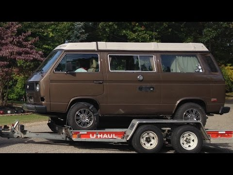Subaru Vanagon Engine Swap - Intro Part 1 - YouTube