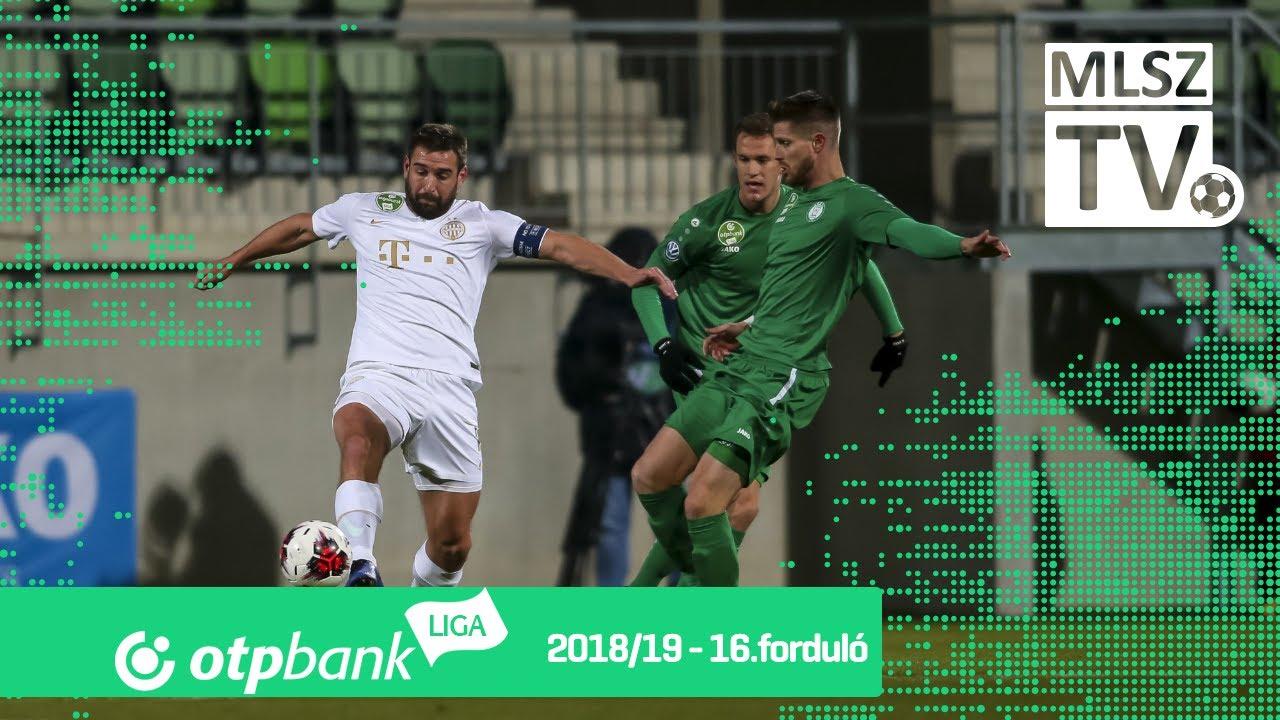 Paksi FC – Ferencvárosi TC | 0-3 | (0-2) | OTP Bank Liga | 16. forduló | MLSZTV