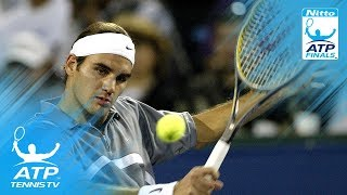 Federer v Agassi: ATP Finals 2003 Final Highlights
