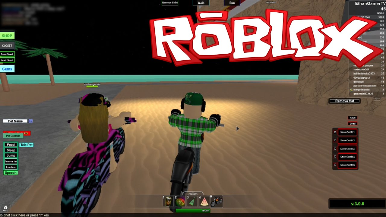 Beach House Roleplay Roblox Youtube