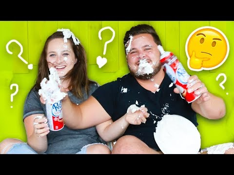 Pie face couple challenge w bryan lanning how well do we know pie face couple challenge w bryan lanning how well do we know our relationship solutioingenieria Choice Image