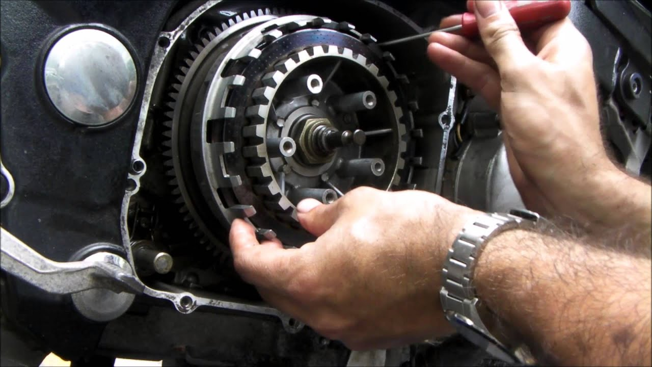 Peachy's Place: How to change clutch plates on a