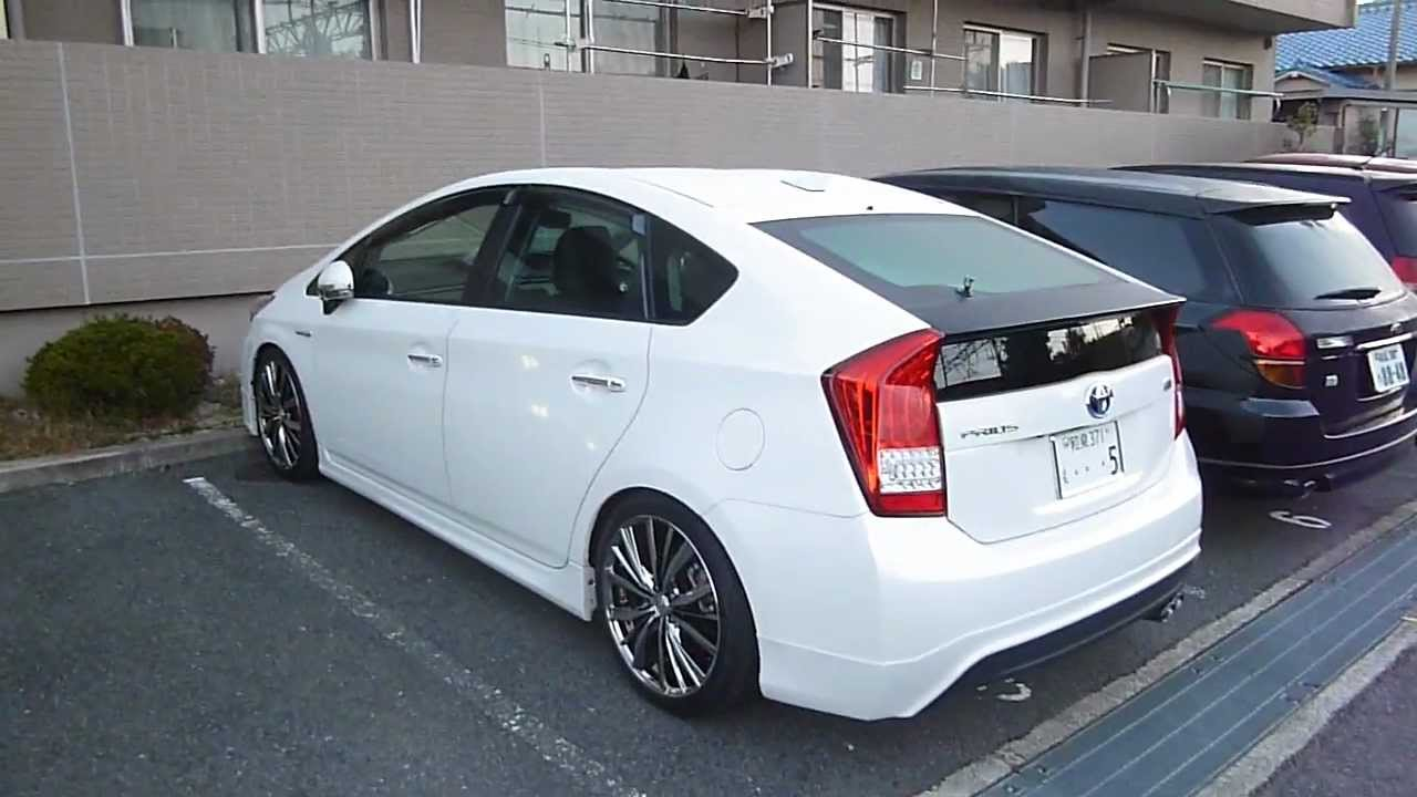 Lowered Prius With Rims Japan Youtube