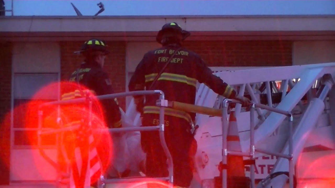 Northern Virginia Fire Buffs 6560 Backlick Road Springfield Va Building Fire Youtube
