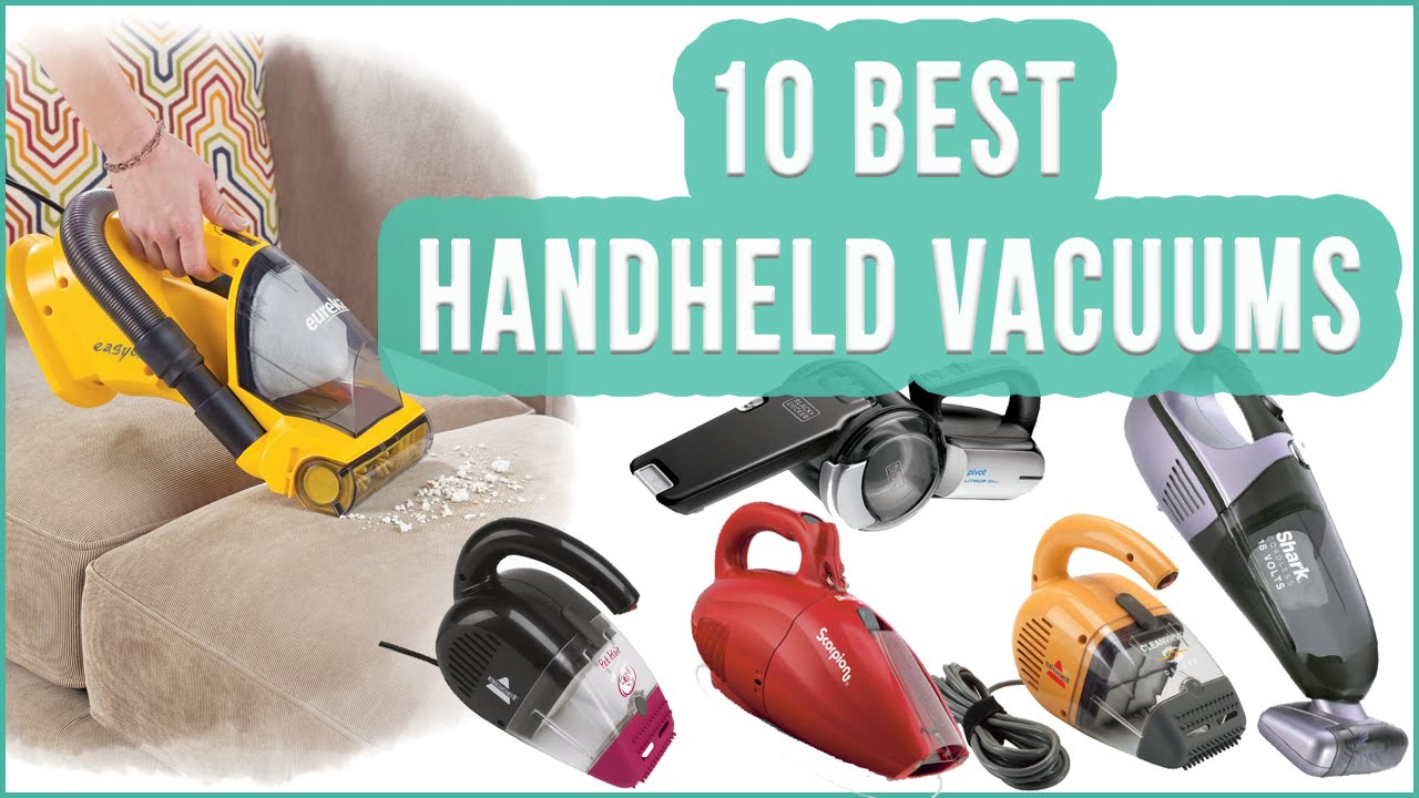 best handheld vacuum top 10 handheld vacuum cleaners toplist youtube