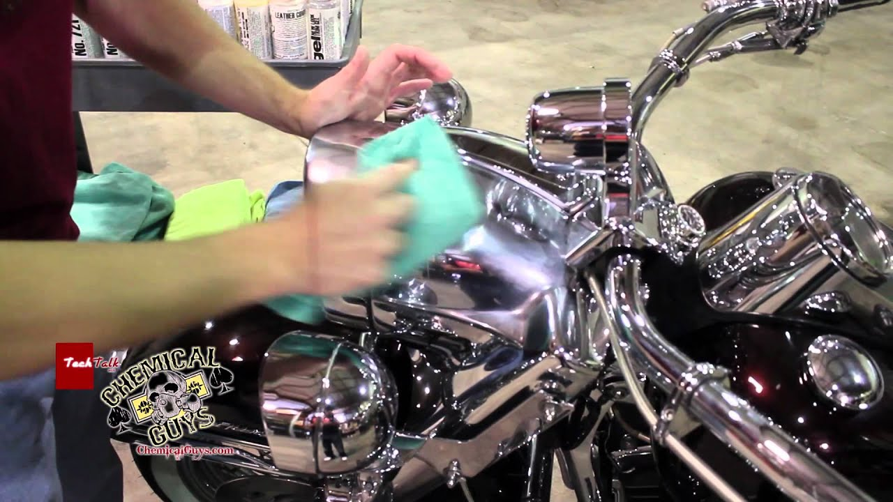 How To Polish Motorcycle Chrome Chemical Guys Metal