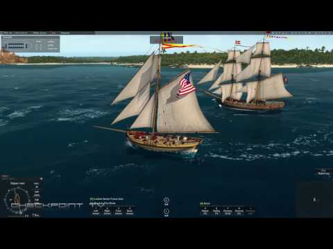 Naval Action Gameplay #03 Sailing in January 2017 build