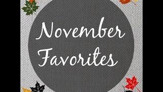 November Favorites Thumbnail