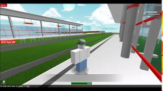 Roblox Light Railway: waiting for the train