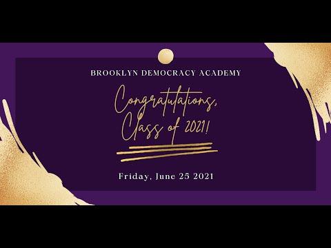 BDA 2021 Commencement Ceremony