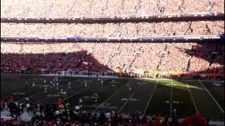 Denver Broncos-  Brady's Pass is INCOMPLETE