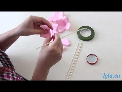 [Hướng Dẫn] Làm Hoa Hồng Bằng Giấy