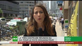 G20 à Osaka : une organisation lourde et coûteuse