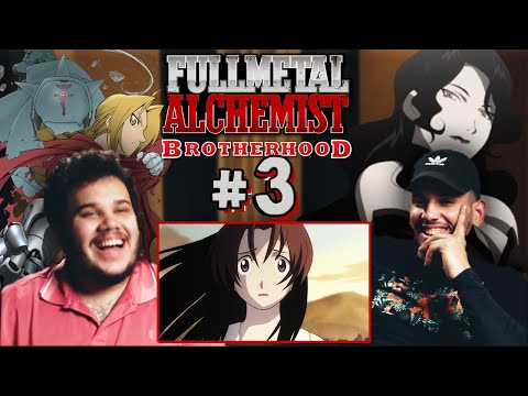 "REACTION | ""Fullmetal Alchemist: Brotherhood #3"" - A Town Cult?!"