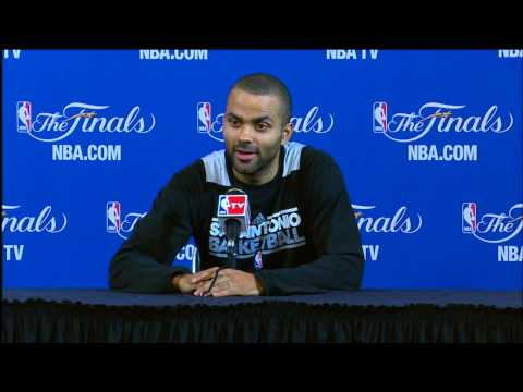 Tony Parker NBA Finals Press Conference: Spurs Return After 6 Years