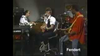 Keith Richards Paul Shaffer Friday Night Video 1986 part 1