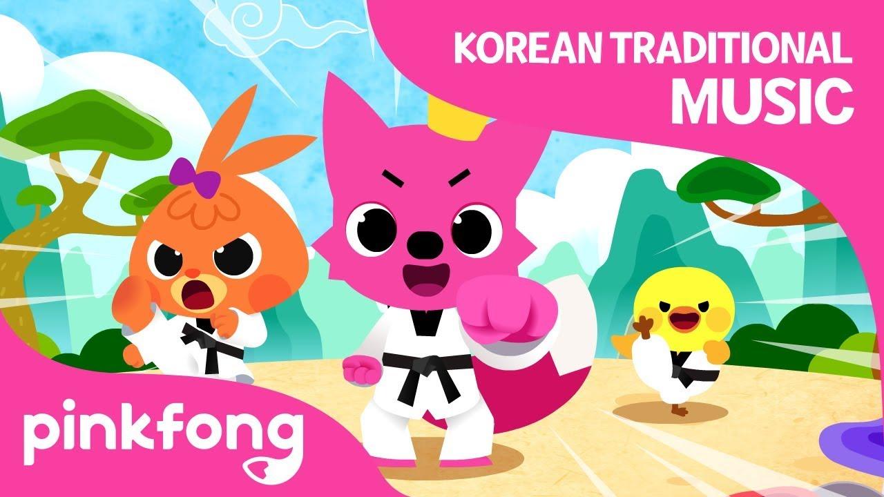 Taekwondo Song   Korean Traditional Music   Pinkfong Songs for Children