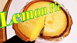 How To Make Lemon Pie - Simple and Perfect - Martiye Can Cook Tube