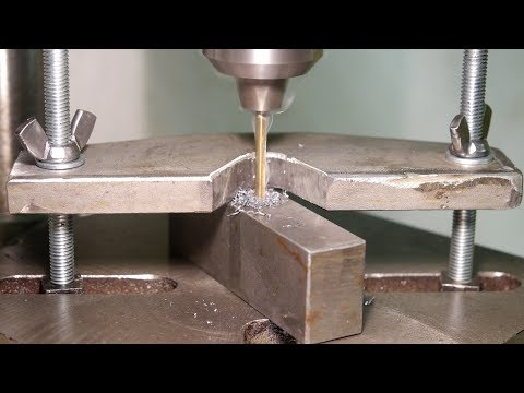 Making a finger saving drill press clamp