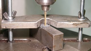 Making a finger saving drill press clamp
