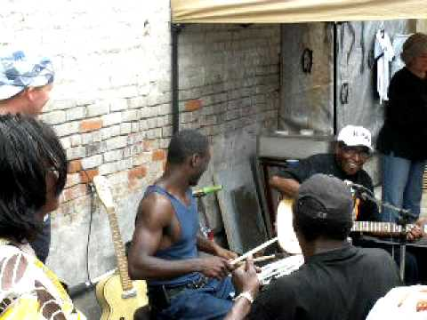 T-Model Ford with Cedric Burnside on drums